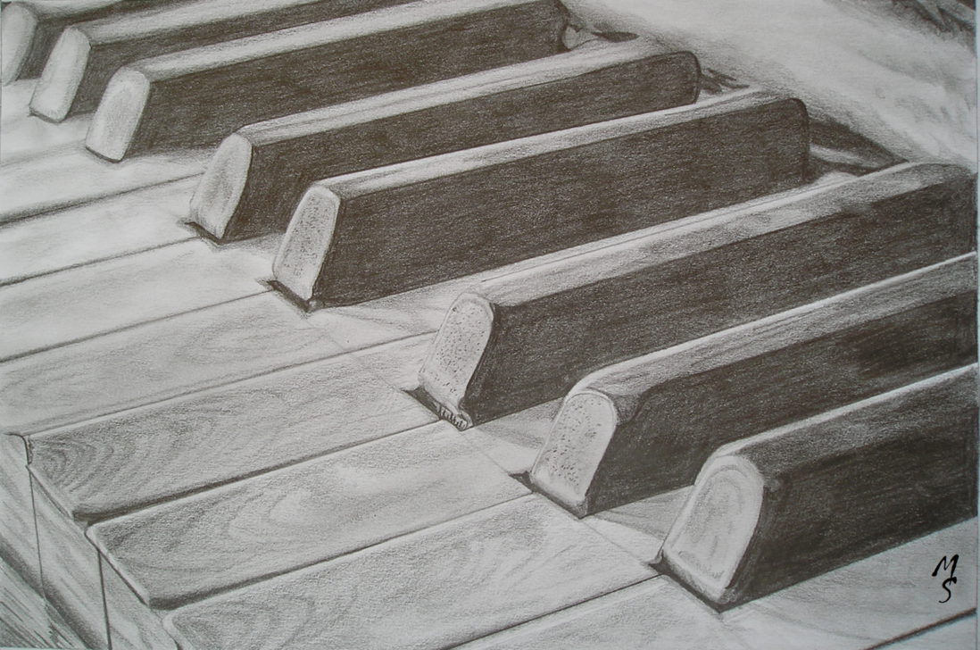 1098x728 Piano By Mels Drawing