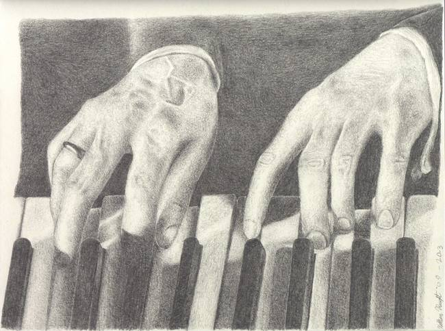 650x483 Stunning Piano Pencil Drawings And Illustrations For Sale