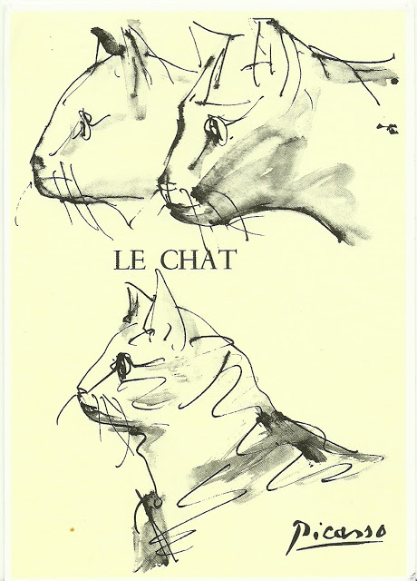 460x640 Postcards2lufra Le Chat By Picasso Picasso Picasso