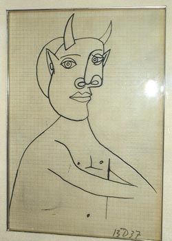 250x350 Picasso Drawing