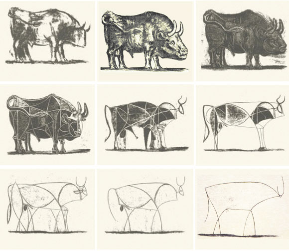 580x503 The Line Drawings Of Pablo Picasso