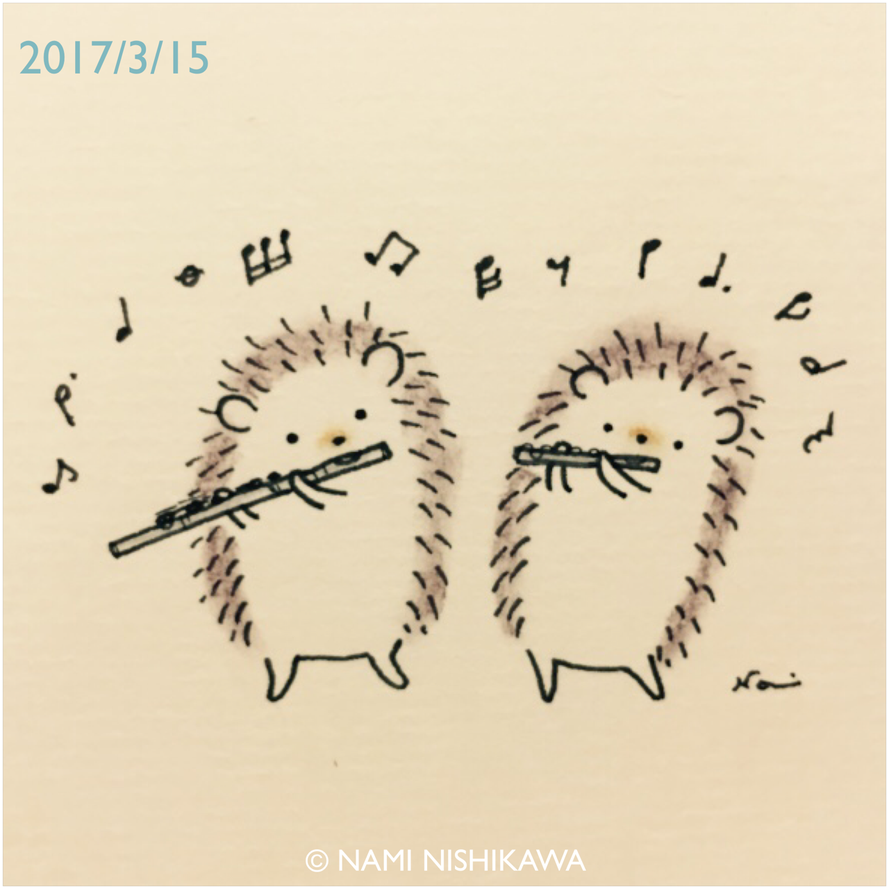 1280x1280 Hedgies On A Flute And A Piccolo Hedgehogs Piccolo