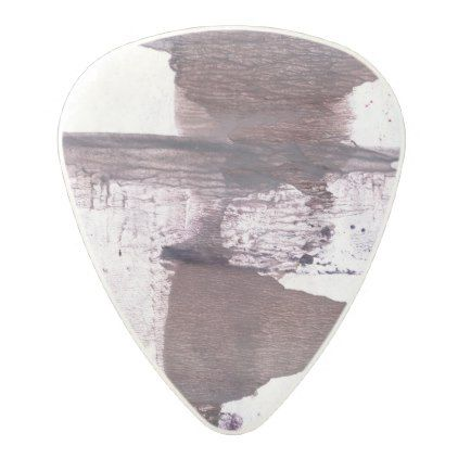 422x422 Dark Gray Clouded Wash Drawing Picture Polycarbonate Guitar Pick