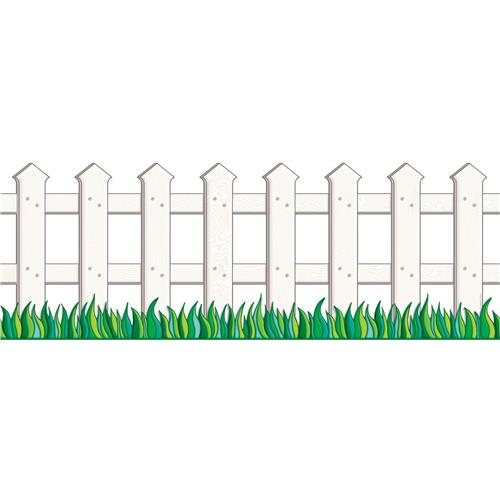 500x500 26 Images Of Picket Fence Template