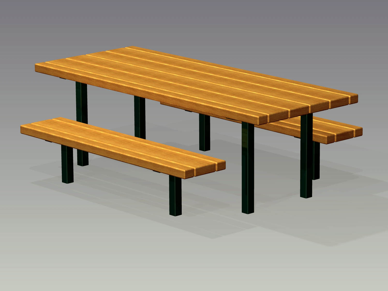 Picnic Table Drawing At Getdrawings Com Free For