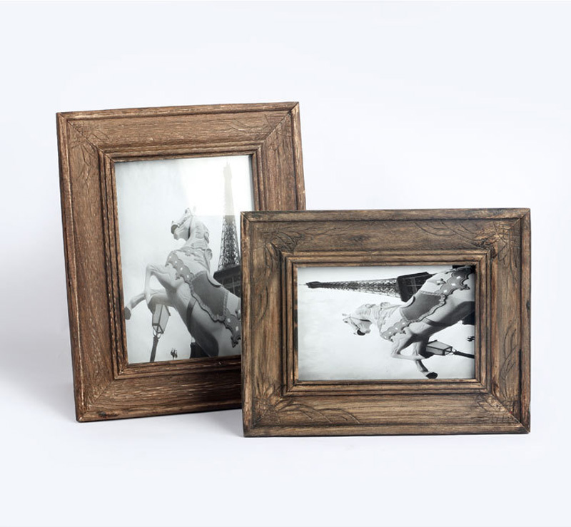 800x739 Home Decor Gift Wooden Photo Picture Frame Customized Drawing