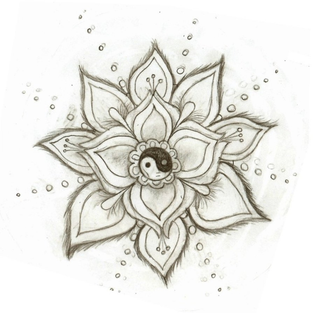 1024x1024 Cool Flower Drawings Cool Flower Drawings Follow You Back We Heart