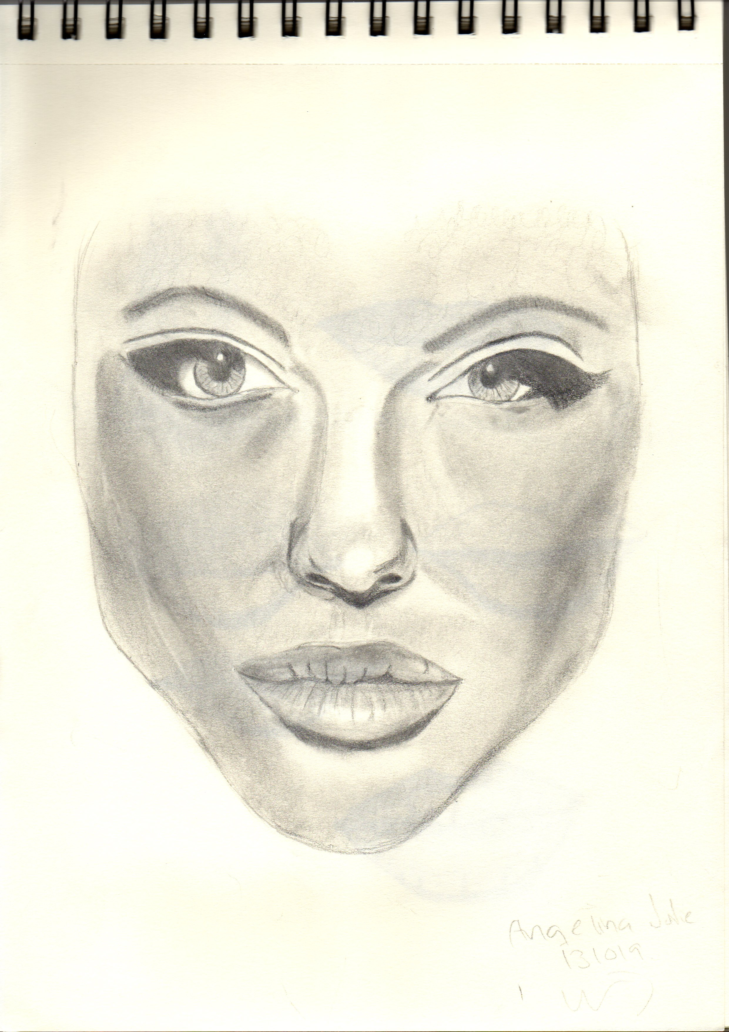 2481x3509 How To Draw A Portrait Of Someone My Drawing Transformation