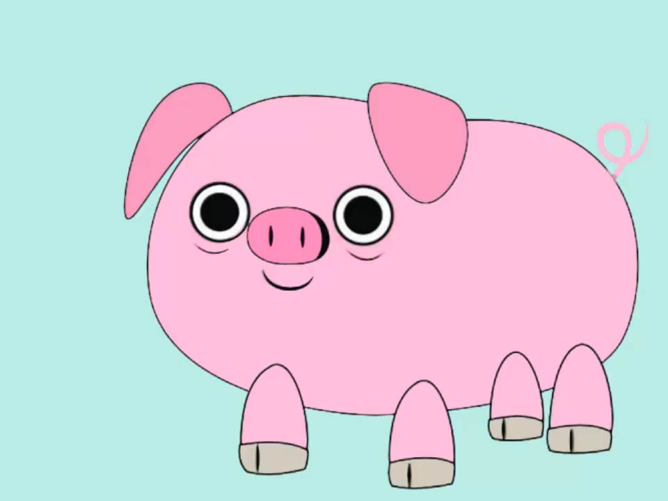 960x720 How To Draw A Pig 14 Steps (With Pictures)