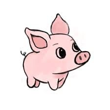 225x224 Image Result For Cute Pig Art Cute Pig Art