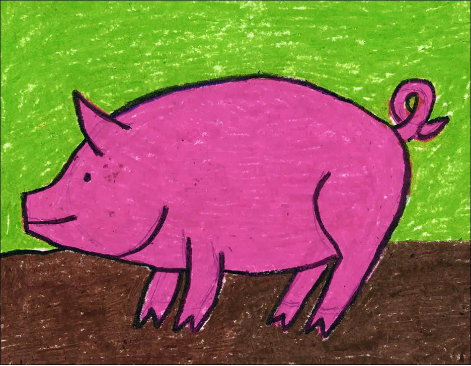 936x728 Draw A Pig