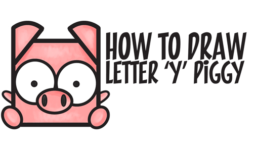 500x295 How To Draw A Pig Archives