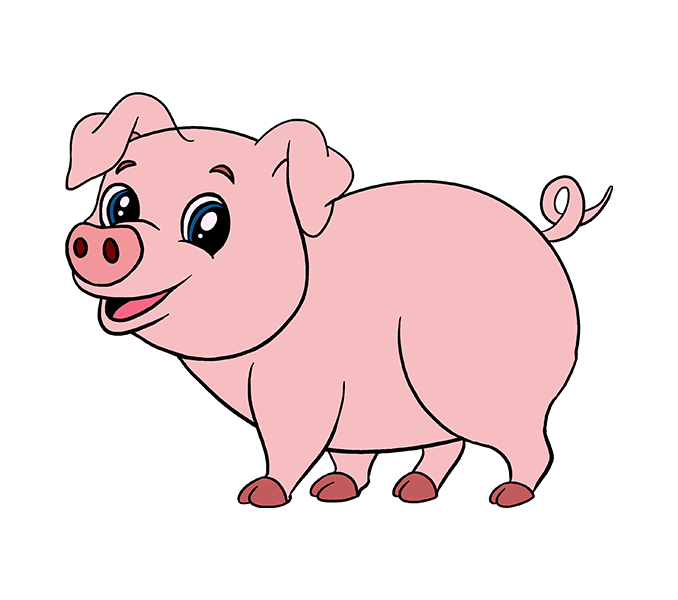 678x600 pig cartoon pics group 30