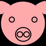 150x150 Pig Face Drawing