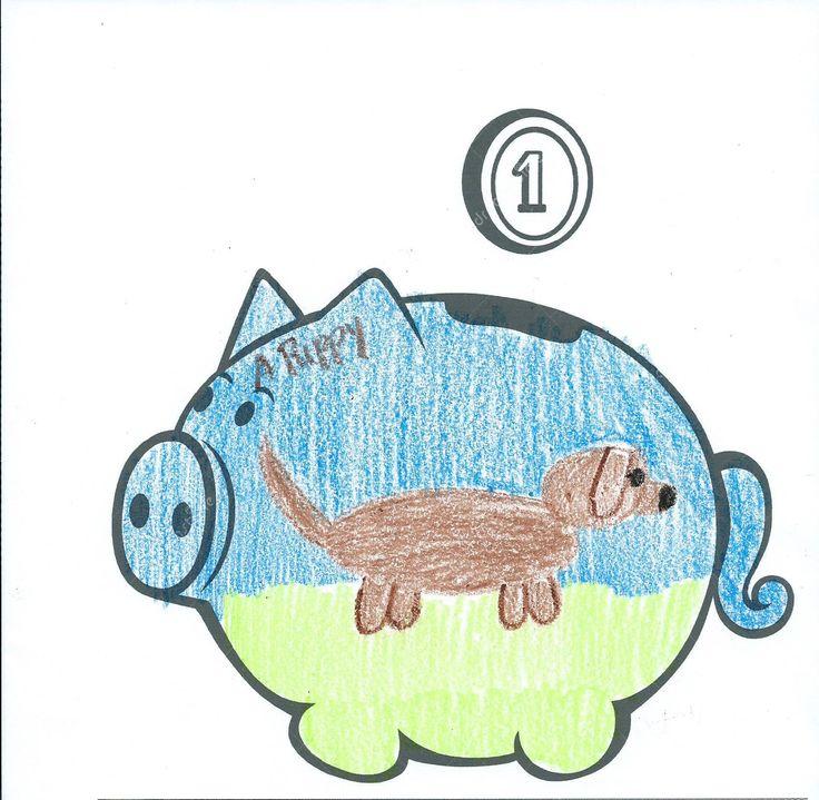 736x719 35 Best 2015 Piggy Bank Drawing Contest