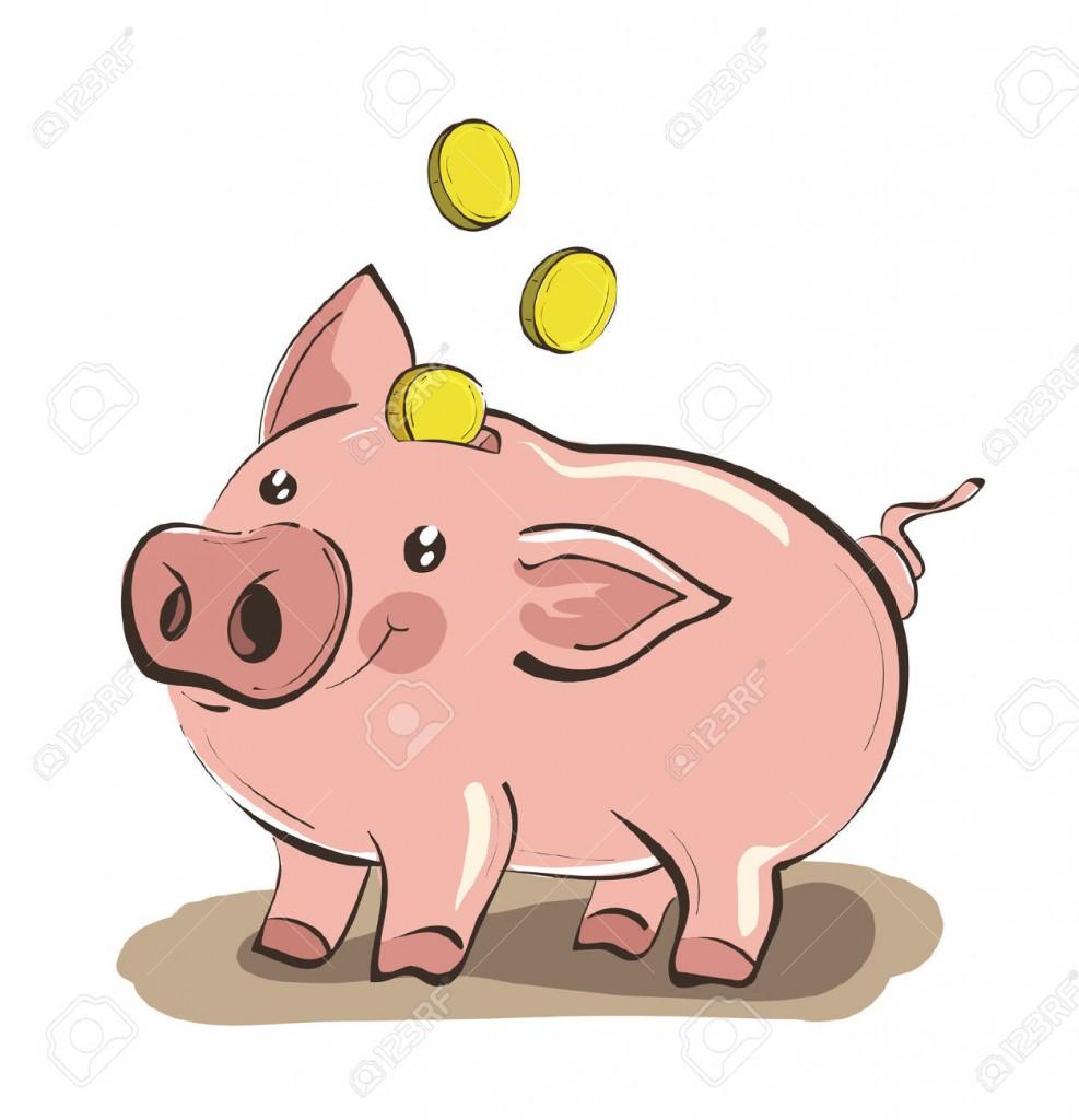 987x1024 Piggy Bank Clip Art