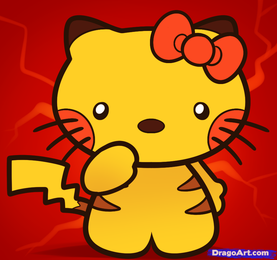 940x882 Learn How To Draw Pikachu Hello Kitty, Characters, Pop Culture