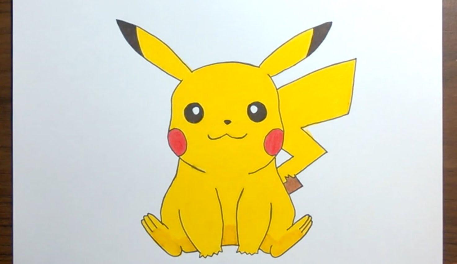 1473x853 Drawing Pikachu