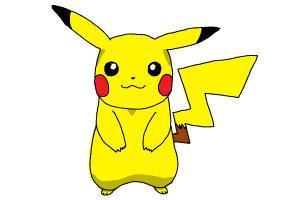 300x200 How To Draw Pikachu