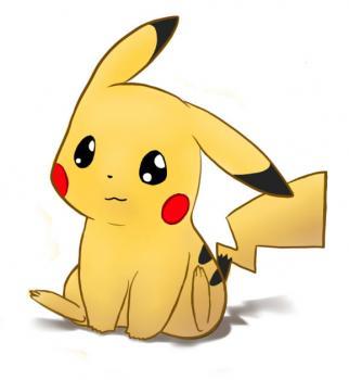 322x350 How To Draw Pikachu