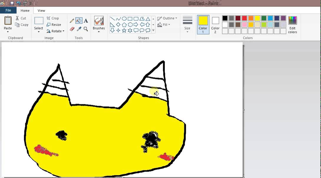 1090x606 How To Draw Pikachu! (Easy)