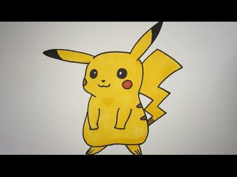 480x360 How To Draw Pikachu Step By Step