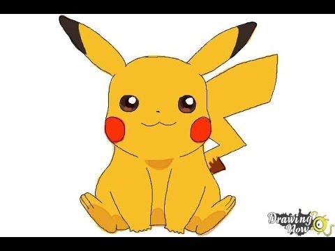 480x360 How To Draw Pikachu Easy