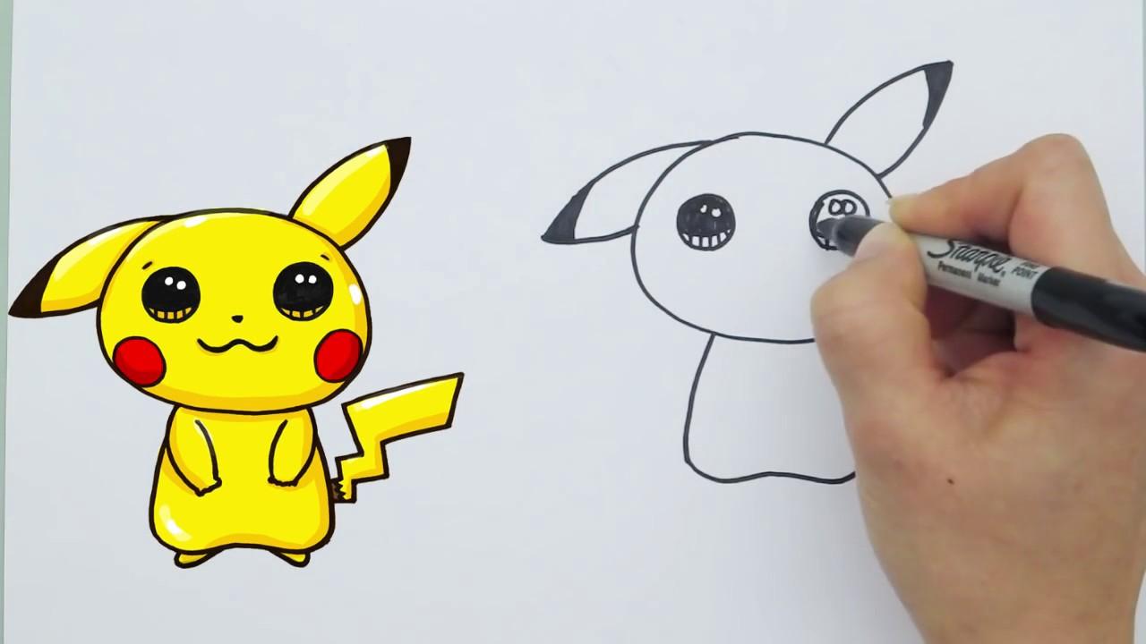 1280x720 How To Draw Pokemon Go