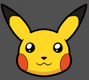 350x315 How To Draw Pikachu's Face