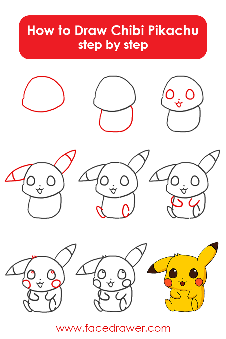 736x1104 Pikachu Is Your Favourite Pokemon Learn How To Draw This Very