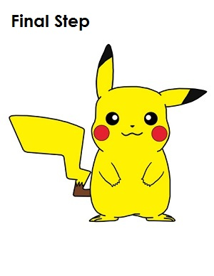Pikachu Drawing Easy At Getdrawings Com Free For Personal Use
