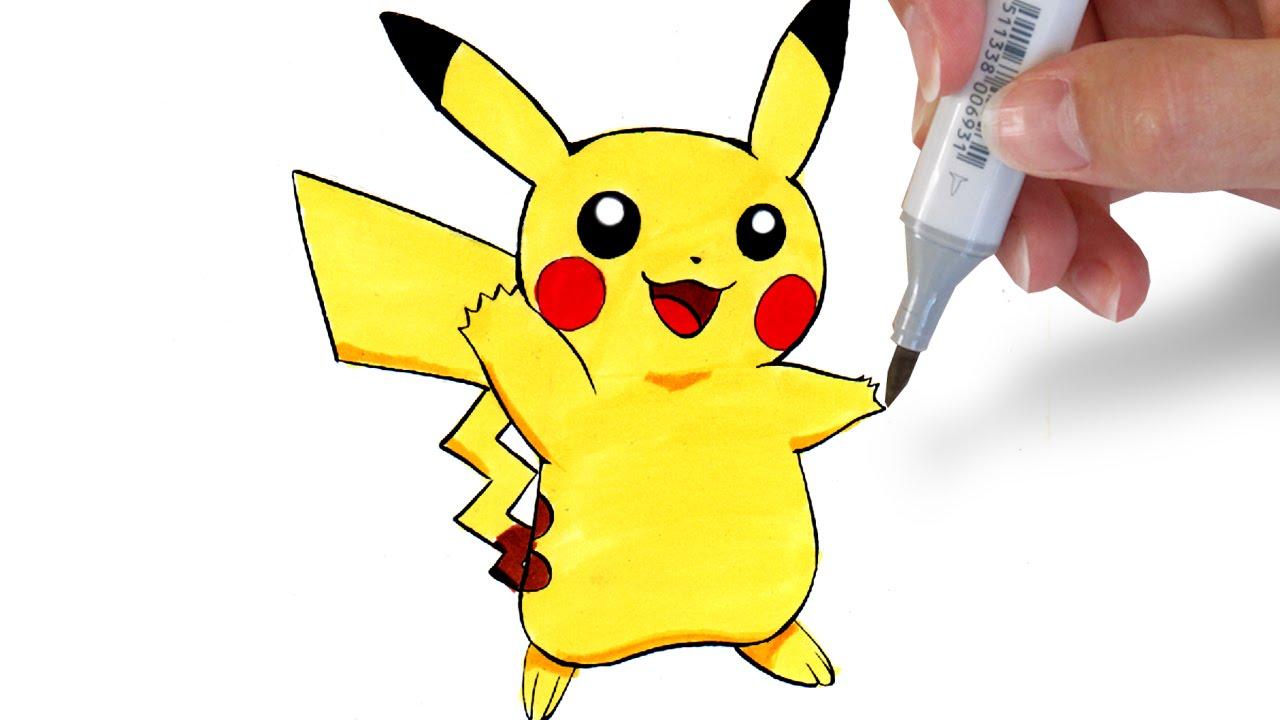 1280x720 How To Draw Pikachu [Easy]