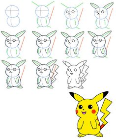 236x283 How To Draw Horsea From Pokemon With Simple Step By Step Drawing