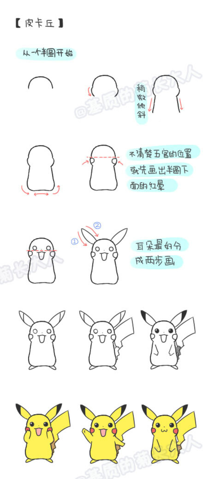 700x1648 How To Draw Pikachu. Ju @ Matrix Grew From People How To Paint
