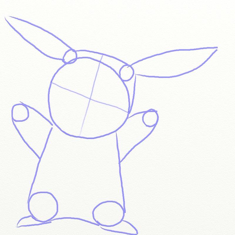 800x800 How To Draw Pikachu From Pokemon