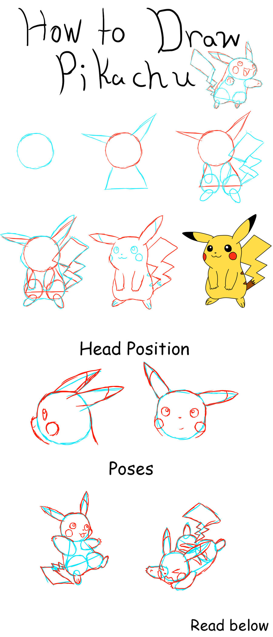 Pikachu Drawing Steps At Getdrawings Com Free For Personal Use