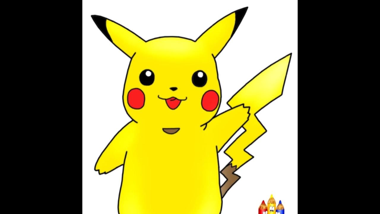 1280x720 How To Draw Pikachu Drawing Tutorial