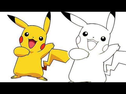 480x360 Pikachu To Draw Pikachu Step By Step