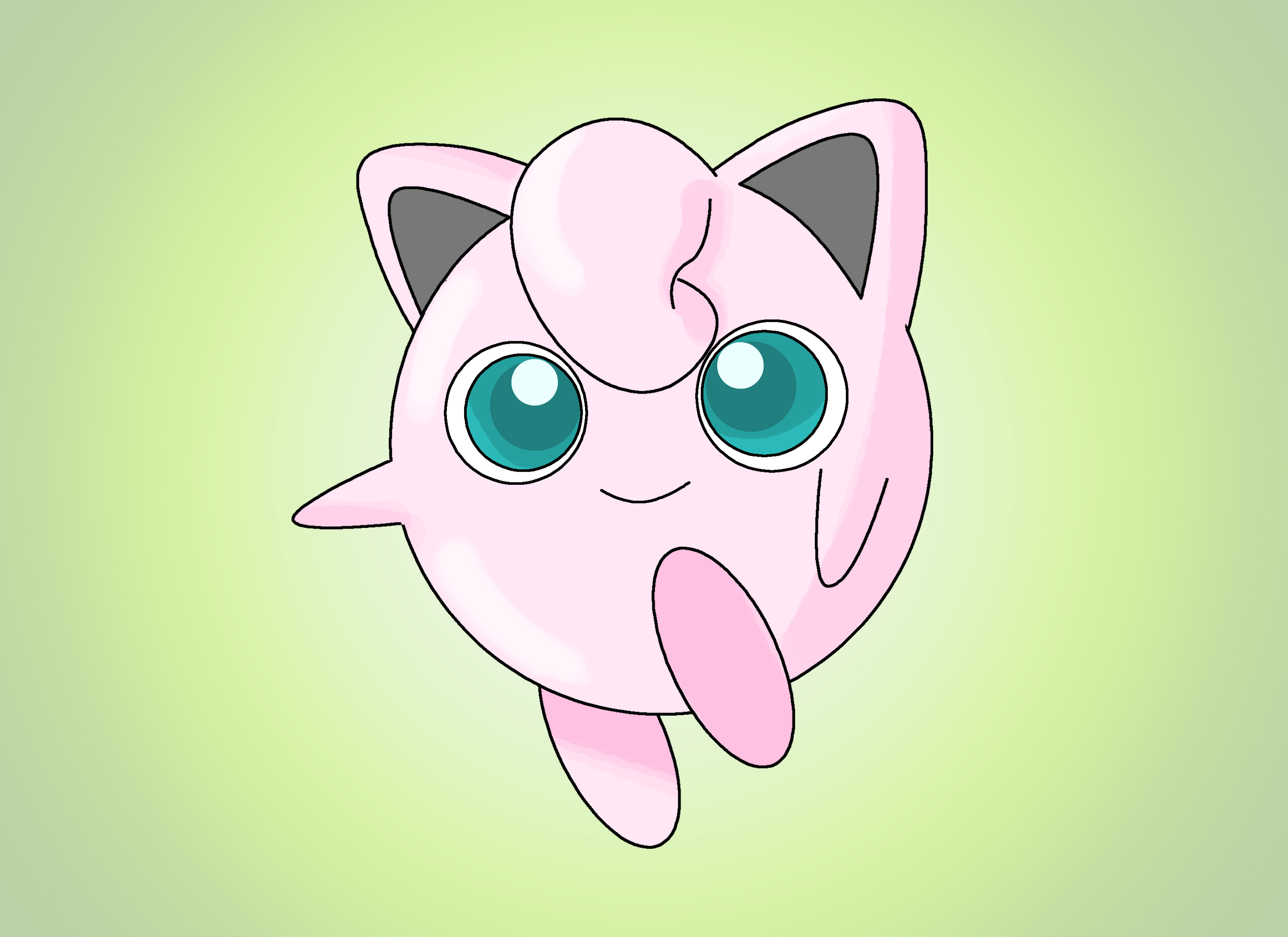 3300x2400 How To Draw Jigglypuff 13 Steps (With Pictures)