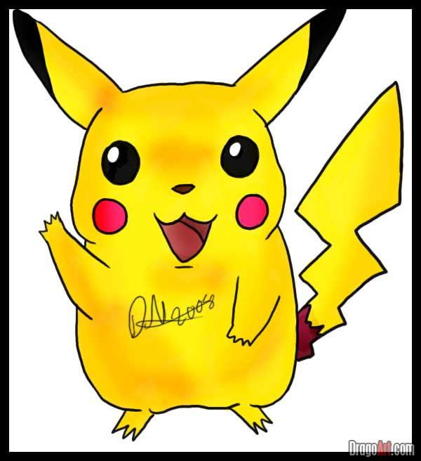 600x656 Learn How To Draw Pikachu, Pokemon Characters, Anime, Draw