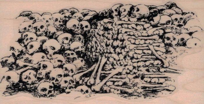700x359 Pile Of Bones And Skulls 2 12 X 4 12