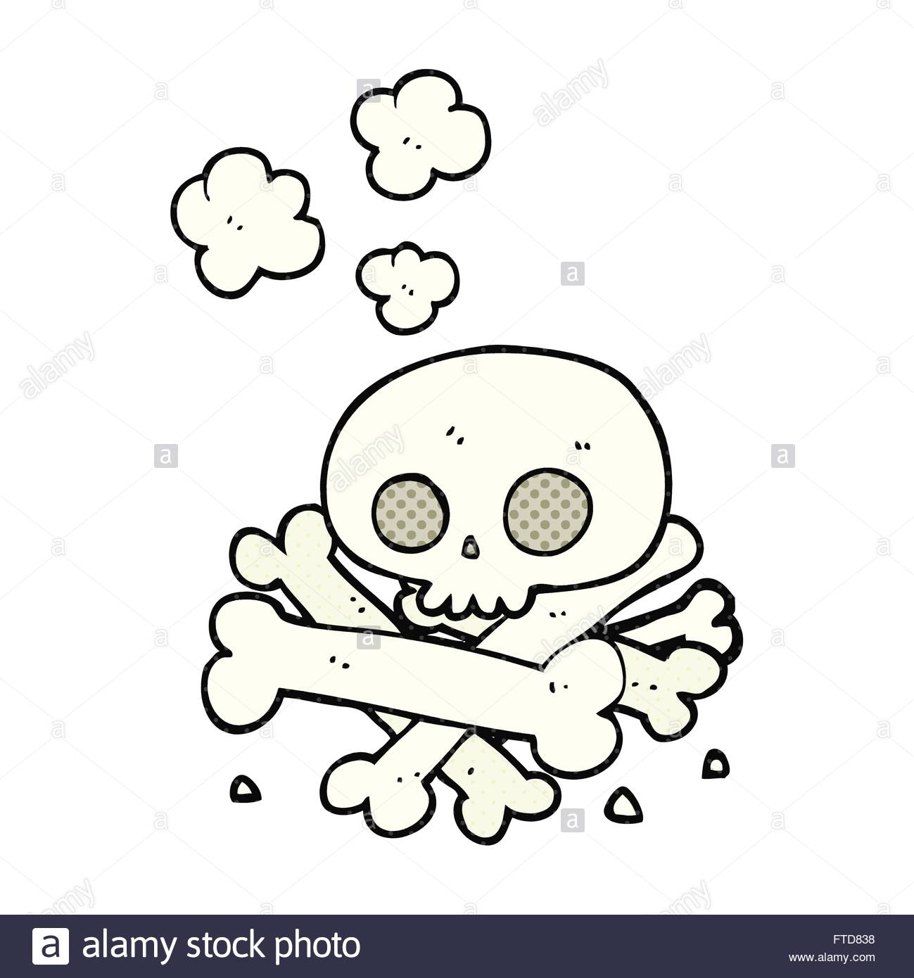 1299x1390 Freehand Drawn Cartoon Pile Of Bones Stock Vector Art