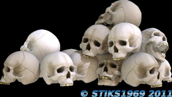 600x340 14 Pile Of Skull Psds Images