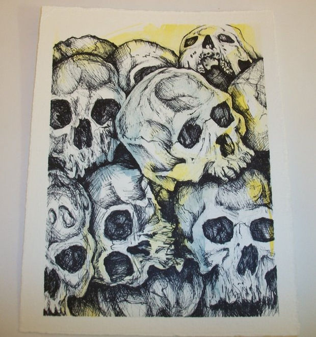 620x661 Skull Drawings, Art Ideas Design Trends