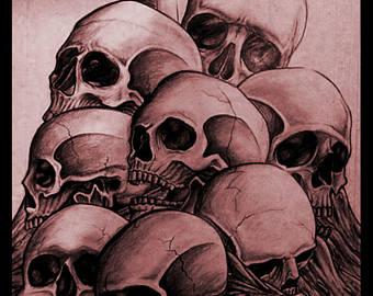 340x270 Pile Of Skulls Etsy