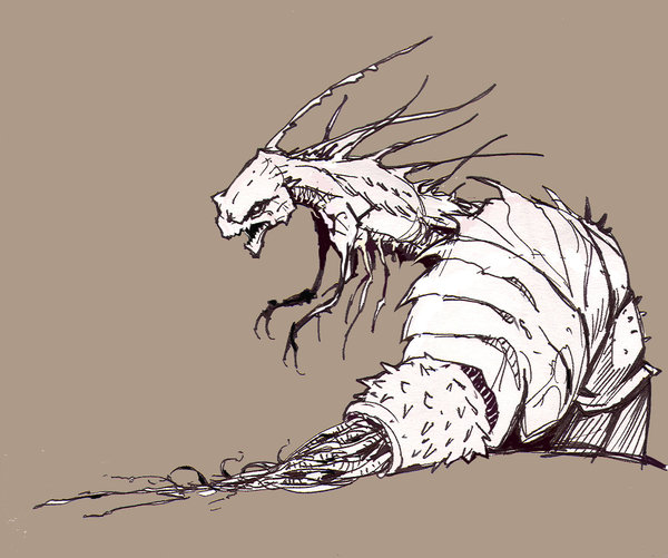 600x501 Pill Bug By Archermonster