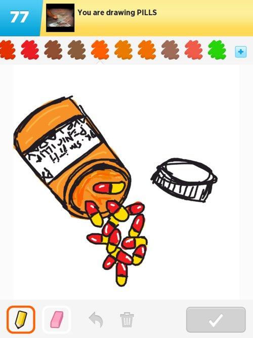 500x667 Pills Drawings