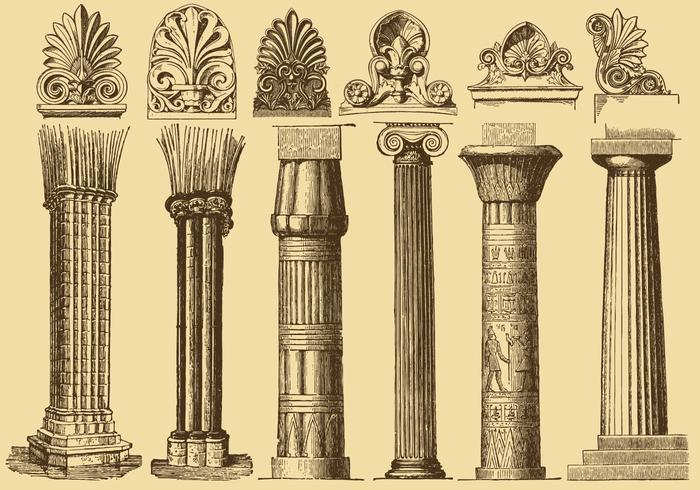 700x490 Old Style Drawing Columns
