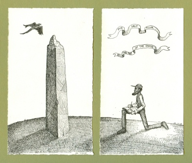 393x334 Walking Man Drawing A Great Salt Pillar School