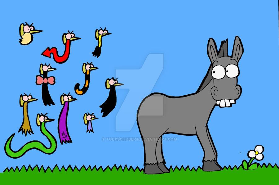 900x596 Pin The Tail Donkey By Tobyschubert